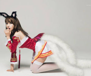 Picture- Ahri from League of..