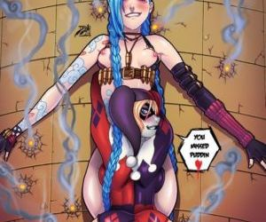 Picture- Harley Quinn and Jinx..