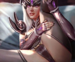 Syndra Patreon NSFW preview..