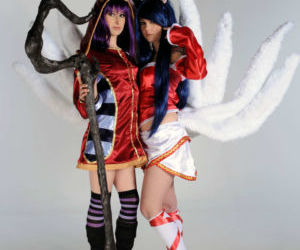 [Cosplay-Mate] Ahri and Lulu..