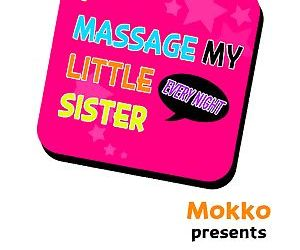 I Massage My Sister Every Night Ch 1-37