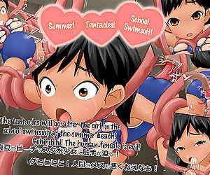 Summer! Tentacles! School Swimsuit! - Natsu da! Shokushu da! Sukumizu da!