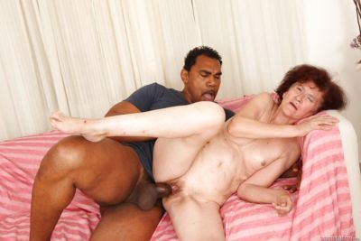 Black man is fucking slutty redhead Marcelina in her shaved pussy - part 2