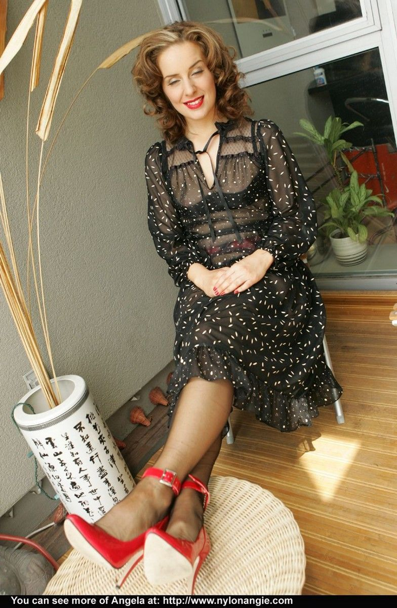 Classy older broad Dirty Angie is really an exhibitionist at heart