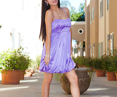Arousing beauty on high heels..
