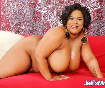Fat black woman Marlise Morgan..
