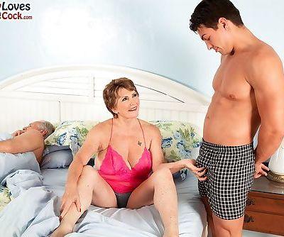 Busty granny Bea..