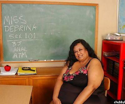 SSBBW Latina teacher Debrina..