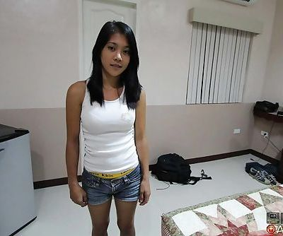 Filipina female bares her big..