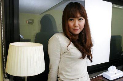 Asian MILF Hiroko Nagatomo undressing and spreading her hairy pussy lips
