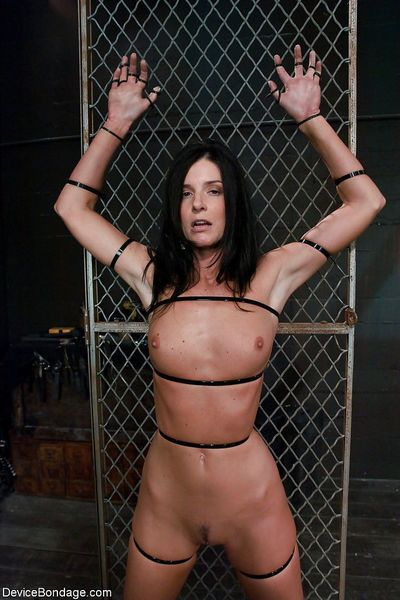 India Summer and Brooke Lee Adams are forced into lesbian sex in bondage