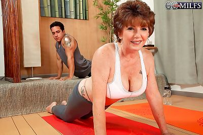 Horny granny bea cummins fucking stiff dick after yoga class - part 795