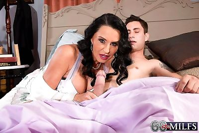 Analloving mature and her cuckold hubby - part 4335