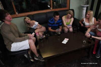 College poker night turns into hardcore orgy - part 653