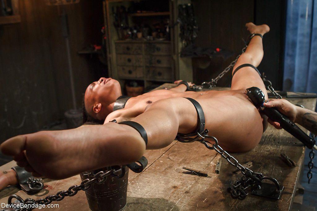 Hentai girl bondage zipper