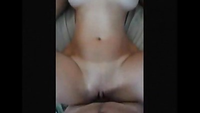 Big boobed wife fucked on real..