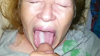 real son feeds his mom cum and..
