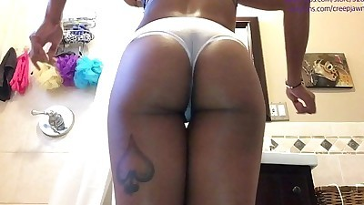 ass clapping in the bathroomHD+