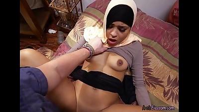 Sexy Arab Nikki Kay Gets Fucked..
