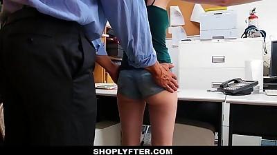 ShoplyfterSkinny Teen Blackmailed..
