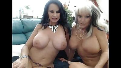 Two GILFs having fun on cam