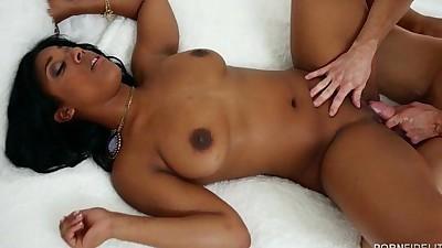 Black Beauty Megan Vaughn Takes..