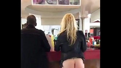 Dirty and Flashing in public in..