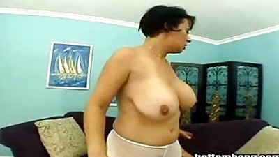 MILF Takes In In Her Black Hole