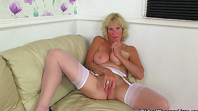 British milfs Molly and Clare in..