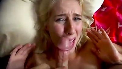 Teen step daughter likes it rough