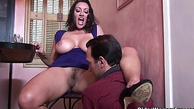 Busty milf Persia Monir gets a..