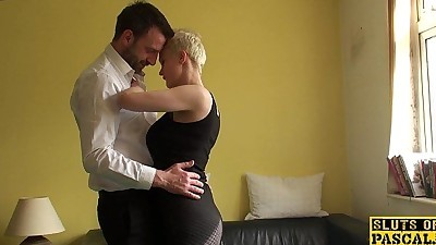Squirting uk sub assfucked..