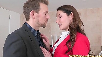 CFNM Lily Love plowed deep during..