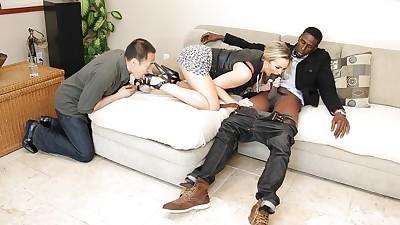 Blonde slut Abbey Brooks taking..