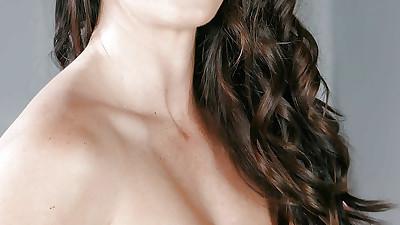 Chesty brunette Alison Taylor..