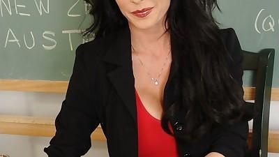 Wooing teacher Jessica Jaymes..