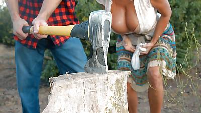 Close up hardcore sex scene with..