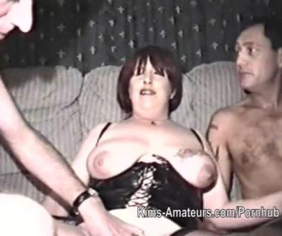 Homemade film with mature woman..
