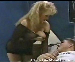Bitch blonde fucking