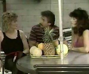 Frank James, Kari Foxx and Rachel..