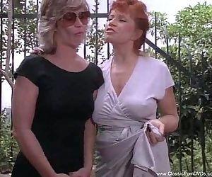 Kinky Classic Lesbians Tro Some..