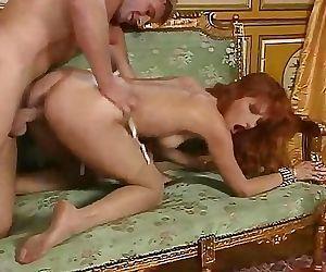 Redhead slut Eva..