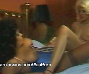 Lesbian Vintage porn stars SEKA..