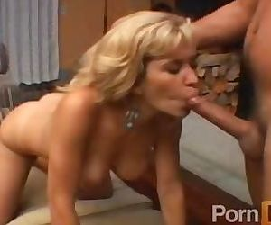Barbara Blair takes it in the Ass