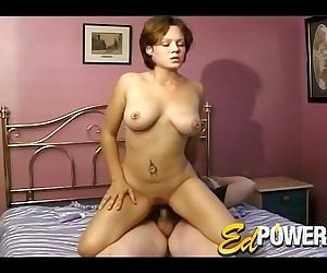 Hot Latina Sucks Ed Powers Cock..