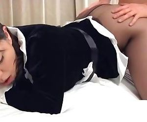 Playful Nipon Maid Does Some..