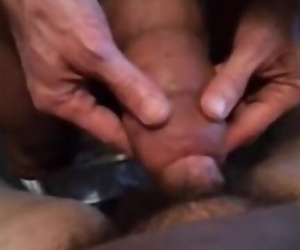 Huge Cock Docking Smaller Penis..