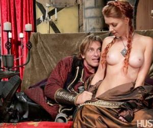 Busty redhead Marie McCray gets boned by a large cock with..
