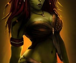 Picture- Female Orc