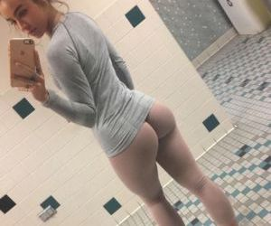 Picture- Looks nude- but its yoga pants